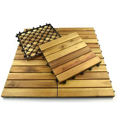 Podest Tarasowy Drewniany Akacja Olejowana 6 Klepek