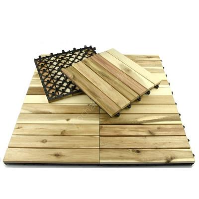Podest Tarasowy Drewniany Akacja Surowa 6 Klepek